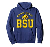 Bowie State 1865 University Apparel Shirts Hoodie Navy