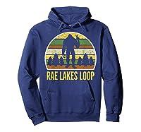 Rae Lakes Loop Shirt, Rae Lakes Loop T-shirt Hoodie Navy
