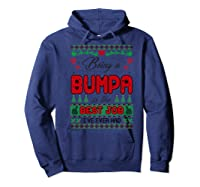 Being Bumpa Best Job I Ever Had Christmas Gift Premium T-shirt Hoodie Navy