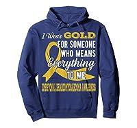Means Everything Embryonal Rhabdomyosarcoma Shirts Hoodie Navy