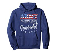 Army National Guard Grandmother Of Hero Military Family Shirts Hoodie Navy