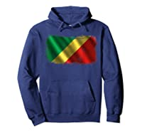 Republic Of The Congo Congolese National Flag Shirts Hoodie Navy