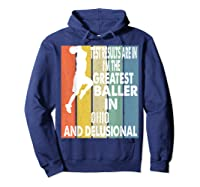 The Greatest Baller In Ohio Basketball Player T-shirt Hoodie Navy