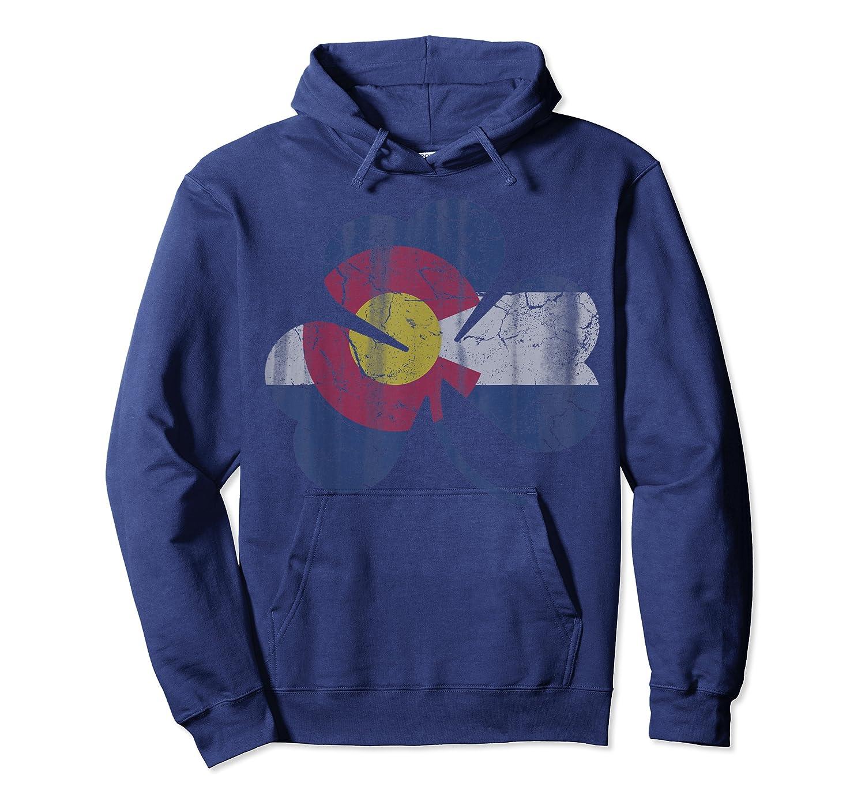 Vintage Irish Flag Of Colorado T Shirt T-shirt Unisex Pullover Hoodie