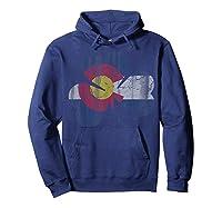 Vintage Irish Flag Of Colorado T Shirt T-shirt Hoodie Navy