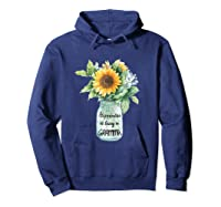 Happiness Is Being A Gramma Gift For Grandma Shirts Hoodie Navy
