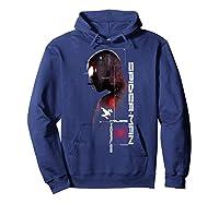 Spider Man Miles Morales Specs Shirts Hoodie Navy