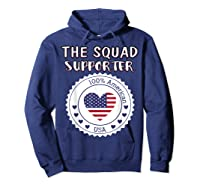 Proud Supporter Of Squad Aoc Pressley Omar Tlaib Shirts Hoodie Navy