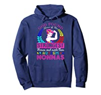 God Found Some Of The Strongest Autism Nonnas Shirts Hoodie Navy
