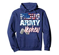 Proud Patriotic Usa Army Nephew Usa Flag Military Shirts Hoodie Navy