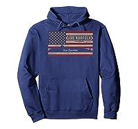 Uss Norfolk Ssn-714 Sub American Flag Gift Premium T-shirt Hoodie Navy