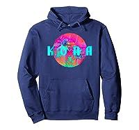 Kona Beach Palm Beach Travel Surf Shirts Hoodie Navy