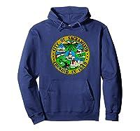 Sacrato California City Seal I Love Sacrato Pride Shirts Hoodie Navy
