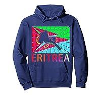 Eritrea Map Eritrean Shirts Hoodie Navy