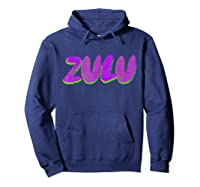 Mardi Gras Shirt - Zulu Parade T-shirt Hoodie Navy
