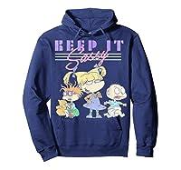 Nickelodeon Rugrats Angelica Keep It Sassy Shirts Hoodie Navy