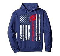 Football Shirt: Usa American Flag Sport Team Fan T-shirt Hoodie Navy