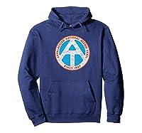 Appalachian Trail Marker Retro Shirt - National Scenic Trail Hoodie Navy