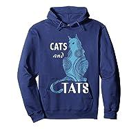 Tattoo Cats And Tats Tattoos Shirts Hoodie Navy