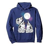 Three Opossum Moon S Shirts Hoodie Navy