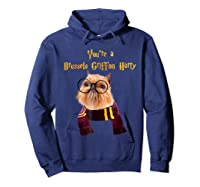 Brussels Griffon Dog Halloween Otter You're A Brussels Shirts Hoodie Navy