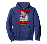 Peanut Bakersfield, Ca Raglan Baseball Ts Shirts Hoodie Navy