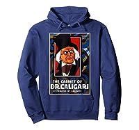 Cabinet Of Dr Caligari Halloween Horror Shirts Hoodie Navy