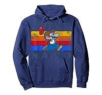 Super Mario Losing Hat Stripes Shirts Hoodie Navy