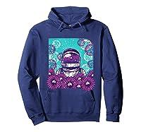 Astronaut Flowers Daisy Bubble Ocean Shirts Hoodie Navy
