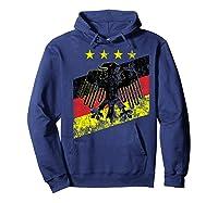 Germany Soccer Style Deutschland 1990 Shirts Hoodie Navy