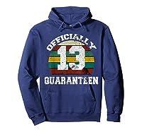 13th A Quarann Retro Birthday Quarantine N Shirts Hoodie Navy