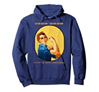 Right To Vote Centennial Xix 19th Adt Gift Shirts Hoodie Navy