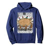 King Arthur & His Knights Of The Round Table, T-shirt Hoodie Navy