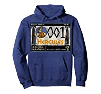 Disney Hercules Grecian Marathon Poster T-shirt Hoodie Navy