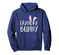 Easter Grandpa Bunny For Paps Family Matching Easter Shirts Hoodie Navy