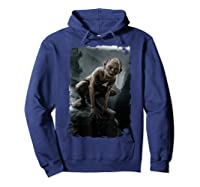 The Lord Of The Rings Gollum T-shirt Hoodie Navy