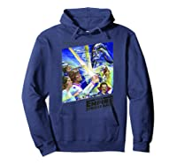 Star Wars The Empire Strikes Back The War Isn\\\'t Over Poster T-shirt Hoodie Navy