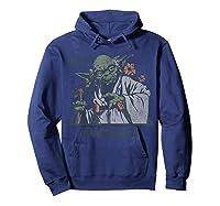 S Yoda Greetings From Dagobah Postcard Badge Shirts Hoodie Navy