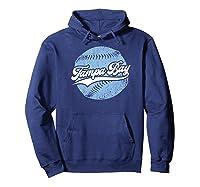 Tampa Bay Baseball Vintage Florida Ray Retro Gift Shirts Hoodie Navy