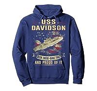 Davidson Ff 1045 Shirts Hoodie Navy
