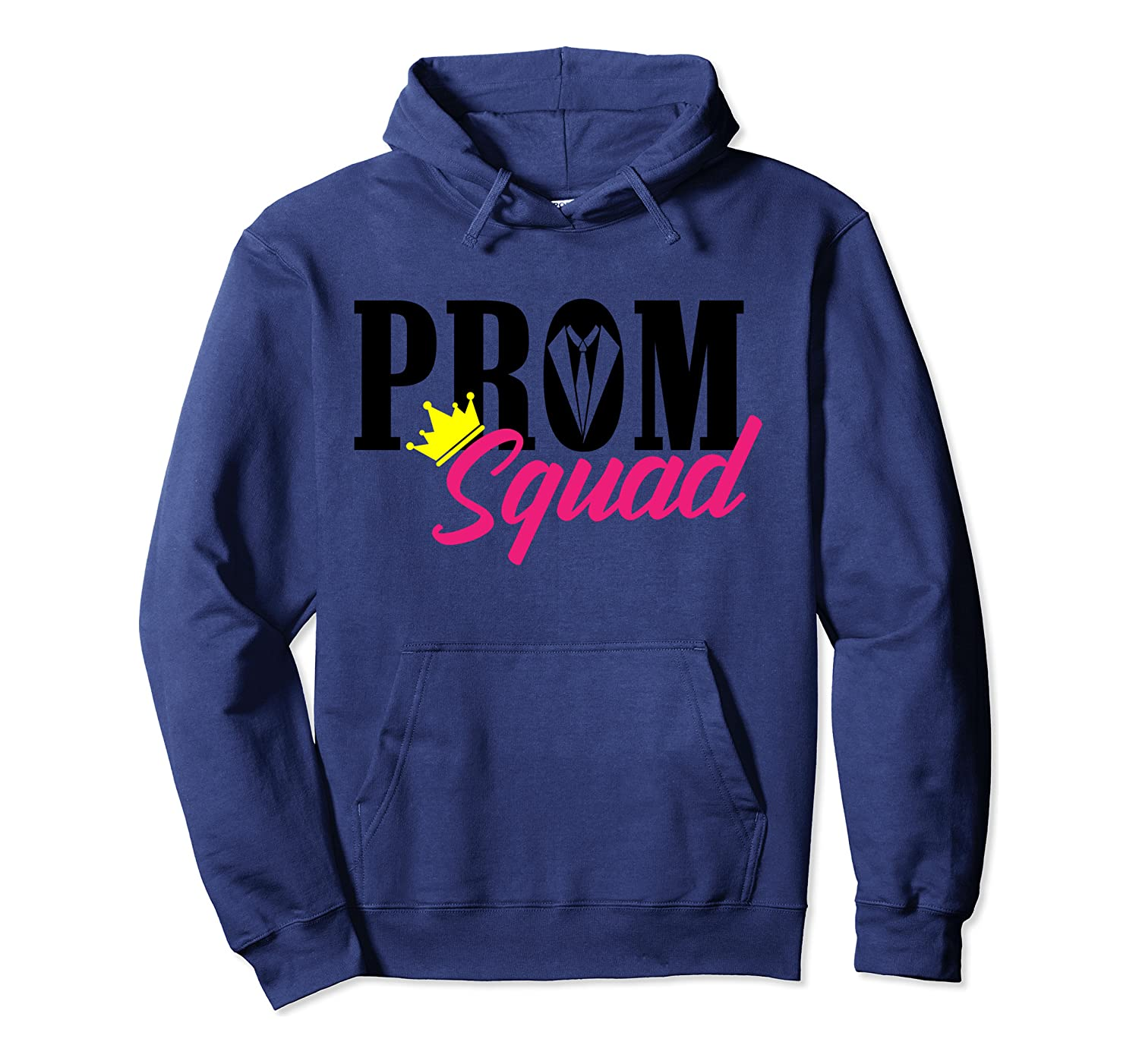 Cool Prom Squad  Funny Promenade Team School Party Gift Pullover Hoodie