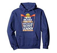 Proud Scout Leader Girls Edition Shirts Hoodie Navy