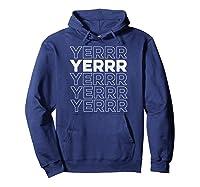 Yerrr New York Pullover Shirts Hoodie Navy