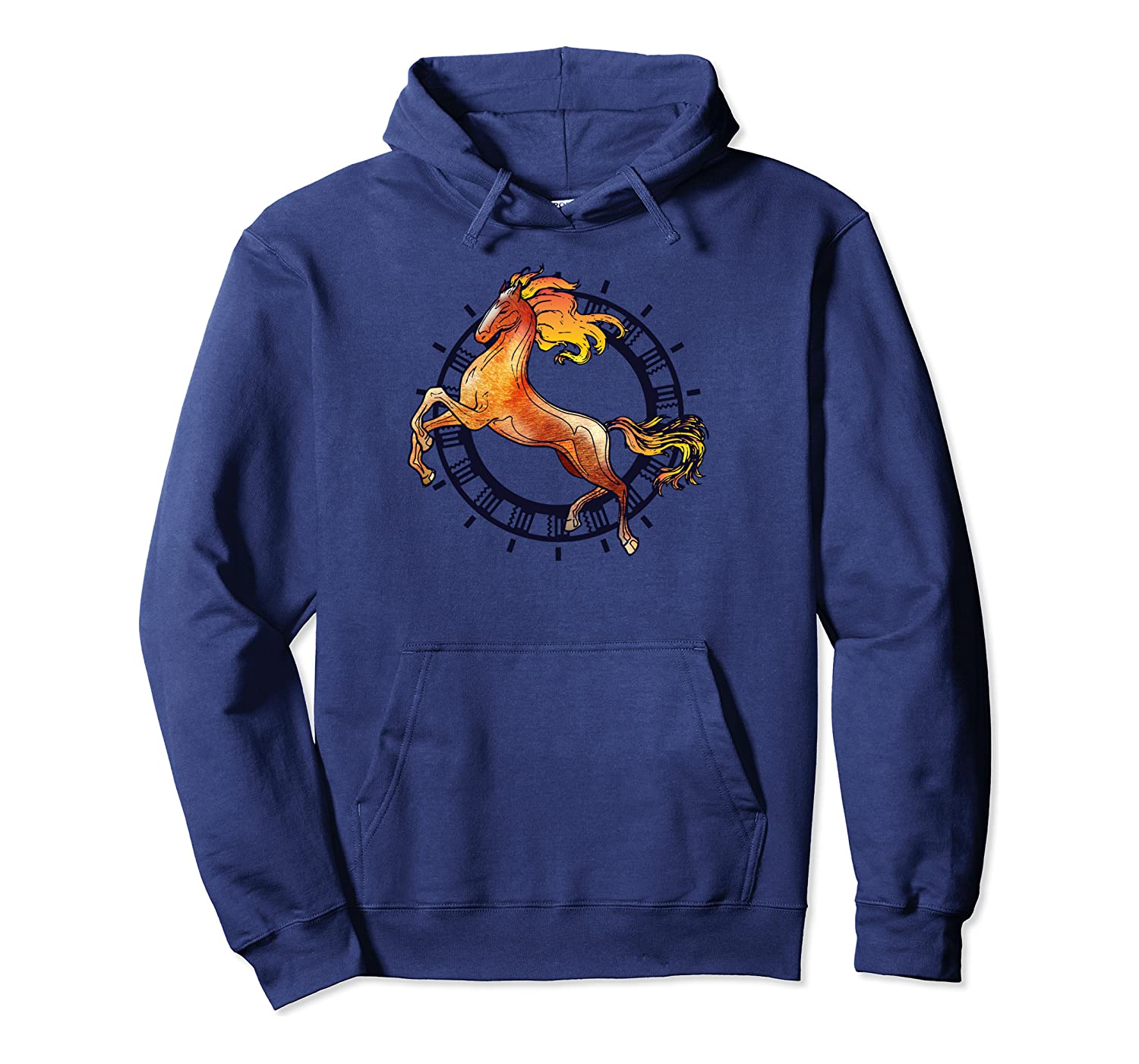 Horse Lover Horseback Riding Adorable Gift Pullover Hoodie