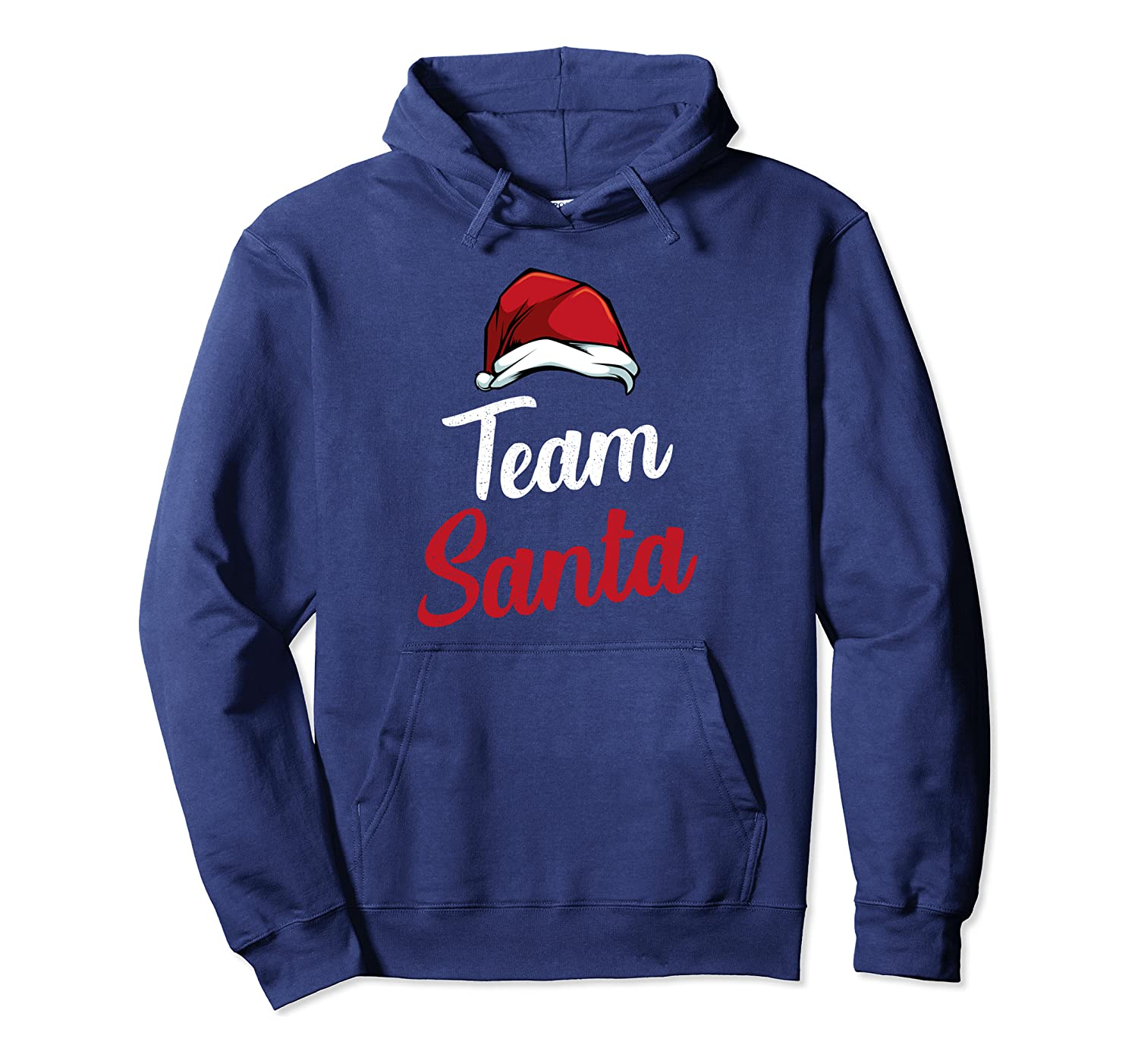 Team Santa Family Matching Merry Christmas Celebration Funny Pullover Hoodie