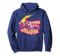 Mickey And The Roadsters Race Minnie Car Shirts Hoodie Navy