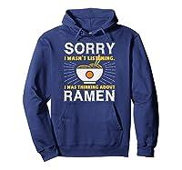 Kawaii Ra Japanese Noodle Food Anime Funny Shirts Hoodie Navy