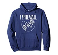 I Prevail - Skeleton Hands - Merchandise Pullover Shirts Hoodie Navy