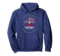 American Grown Paraguayan Roots Paraguay Flag Pullover Shirts Hoodie Navy