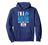 I'm A Realtor Real Estate Agent Agency Shirts Hoodie Navy